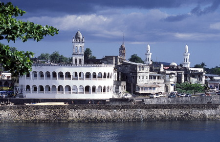 the mosque in the city of Moroni in the Island of  Comoros in the Indian Ocean in Africa    Stock Photo