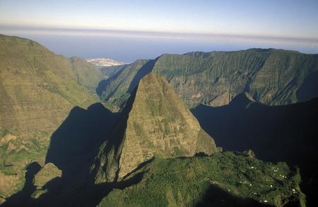 風景オールラウンド グランド バッサン アフリカのインド洋のレユニオン島に。