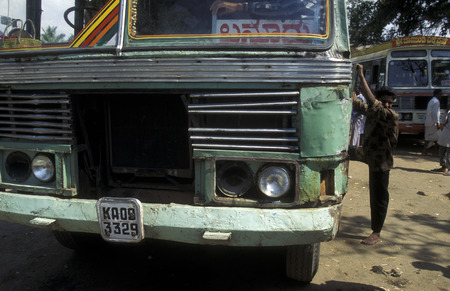buss: a Bus Station in the Province of Karanataka in India.