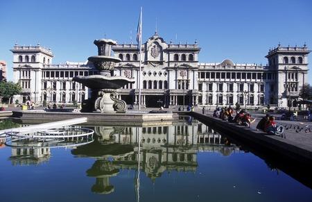 the City Centre of Guatemala City in Guatemala in central America.