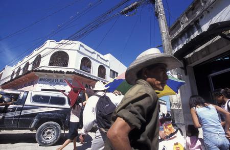 san pedro: the Market in the centre of the city San Pedro Sula  in Honduras in Central America, Editorial