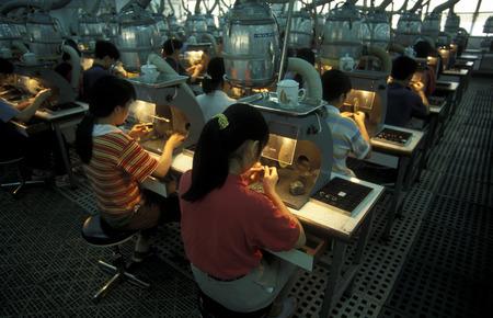 仕上げの会社深セン市東アジアにおける中国の広東省で Hong Kong 北の石。
