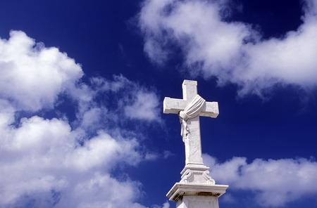 cristobal colon: the Cemetery of Necropolis Cristobal Colon in the city Havana on Cuba in the caribbean sea.