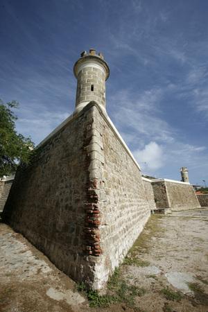 southamerica: the castillo de San Carlos Borromeo in the town of Pampatar on the Isla Margarita in the caribbean sea of Venezuela.