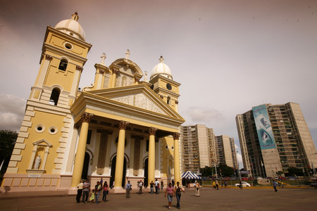 southamerica: the catedral in the town of Maracaibo in the west of Venezuela.