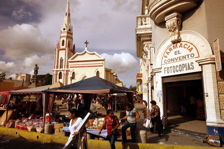 southamerica: street life in the town of Maracaibo in the west of Venezuela.