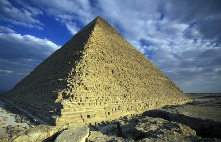 pf: the pyramids pf giza near the city of Cairo the capital of Egypt in north africa