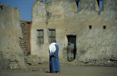 libyan: the old town of the Oasis and village of Siwa in the lybian or western desert of Egypt in north africa Editorial