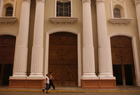 southamerica: the catedrali in the city of Valencia in the west of Venezuela.