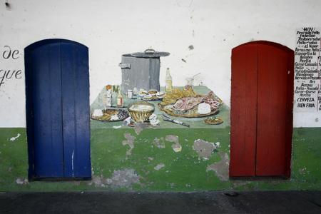 southamerica: a house in the town of chuao near choroni on the caribbean coast in Venezuela. Editorial