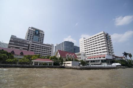 The Siriraj Hospital in Wang Lang in Thonburi in the city of Bangkok in Thailand.  Thailand, Bangkok, November, 2017
