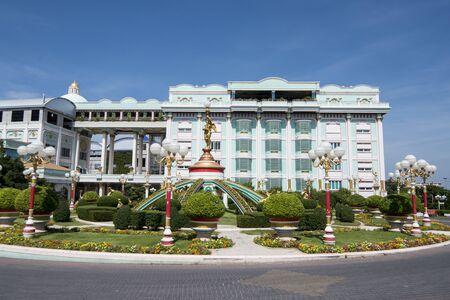 the Sukhawadee Palace near the city of Pattaya in the Provinz Chonburi in Thailand. Thailand, Pattaya, November, 2018 Redakční