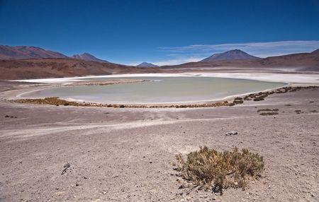 laguna: Laguna Blanco in Bolivia