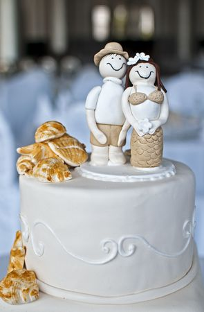 special occasions: Wedding Cake Stock Photo