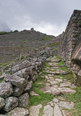the lost city of the incas: Machu Picchu - The Lost City of the Incas in Peru.
