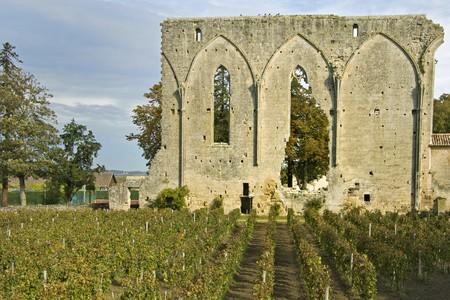 Saint Emilion in Bordeaux - A Unesco World Heritage Site. photo
