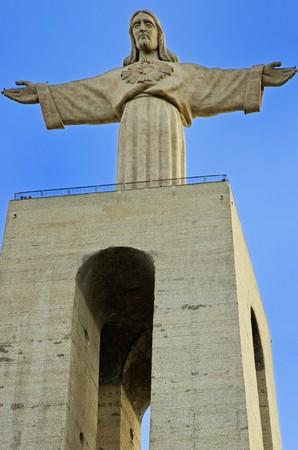 rei: The Statue of Christ (Cristo Rei)  in Lisbon, Portugal