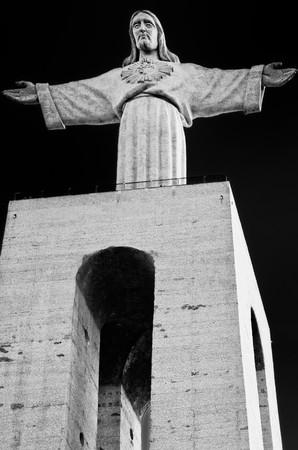 cristo: The Statue of Christ (Cristo Rei)  in Lisbon, Portugal