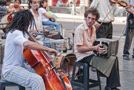 bloke: Street Music in Buenos Aires, Argentina, March 7th 2010