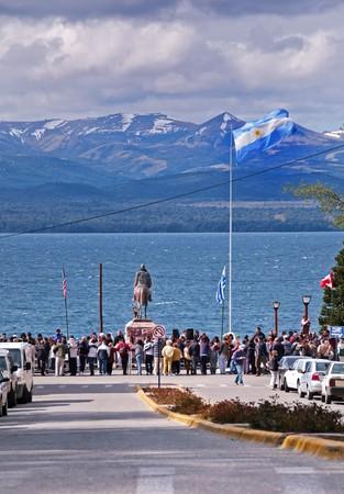 lake nahuel huapi: San Carlos de Bariloche during the 1000 Millas Sport de la República Argentina - A vintage car race, 21st November 2009
