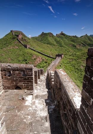 jinshaling: The Great Wall of China between Jinshanling and Simatai.