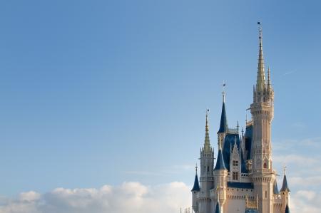 Disneys Magic Kingdom in Florida, October 4th 2010. Approximately 46 million people visit the Walt Disney World Resort annually.