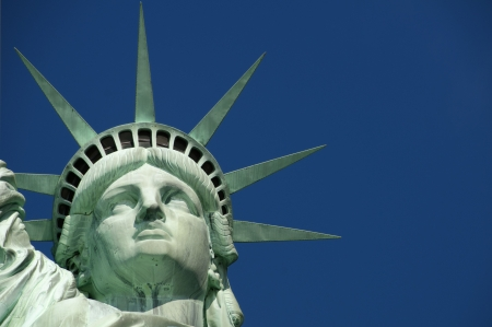 Statue of Liberty on Liberty Stock Photo - 8103923