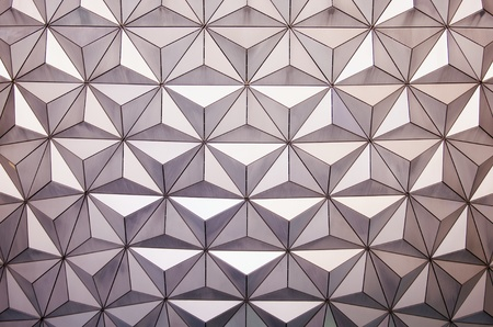 approximately: Close-up of the Epcot Dome at Disney World, Florida, October 4th 2010. Approximately 46 million people visit the Walt Disney World Resort annually. Editorial