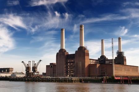 Battersea Power Station in London Stock Photo - 9189166
