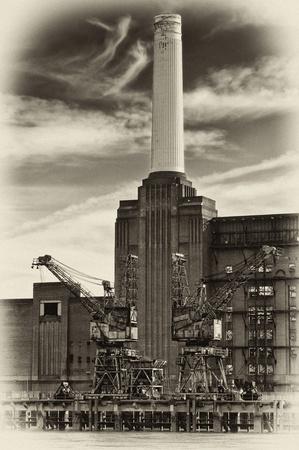 Battersea Power Station in London. photo