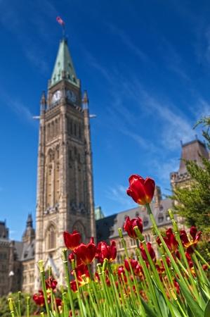 Parliament Hill in Ottawa, Canada photo