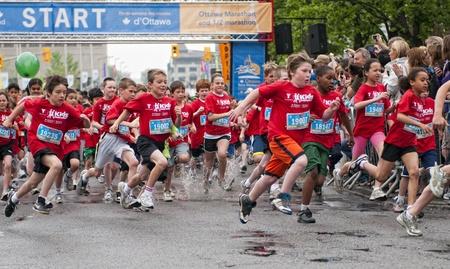 The 2011 Y Ottawa Marathon, May 29 2011, Ottawa, Canada Editorial