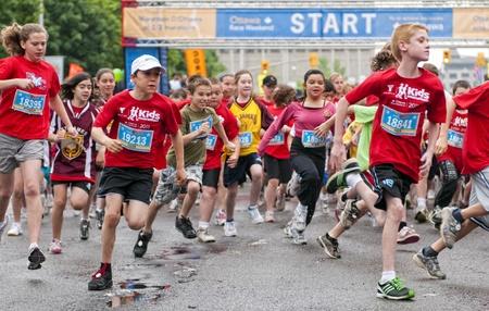 The 2011 Y Ottawa Marathon, May 29 2011, Ottawa, Canada
