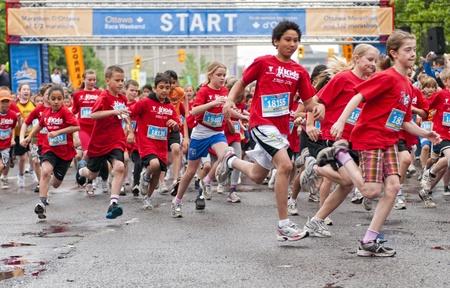 The 2011 Y Ottawa Marathon, May 29 2011, Ottawa, Canada.
