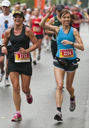 The 2011 Ottawa Marathon, May 29 2011, Ottawa, Canada Editorial