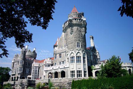 A castle in Toronto, Canada Zdjęcie Seryjne