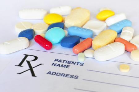Prescription pills 写真素材