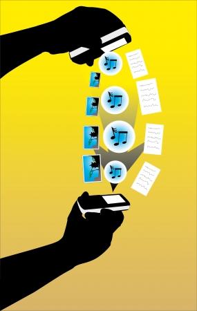 transferring: Transferring files using bluetooth