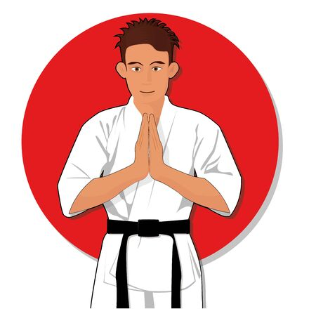 Karate Martial Arts Vector Clipart Cartoon Stance Royalty Free Cliparts Vectors And Stock Illustration Image 145756545