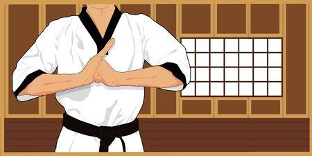 dojo martial arts athlete