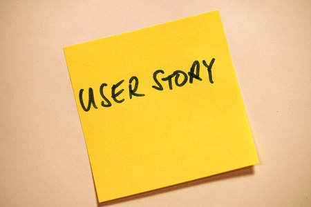Yellow Sticky Note Scrum Agile User Story