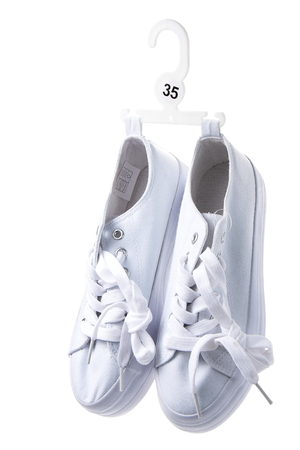 sports  shoes on white background