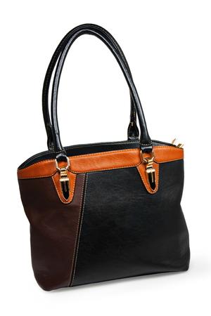 female bag on white background Stock Photo