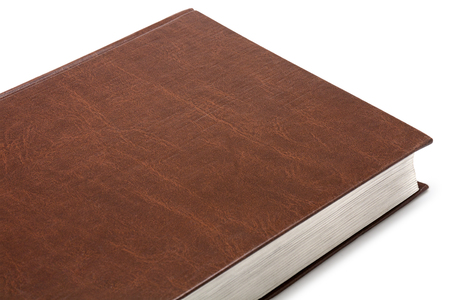 part book on white background Stock Photo
