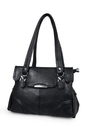black women bag on white background Stock Photo