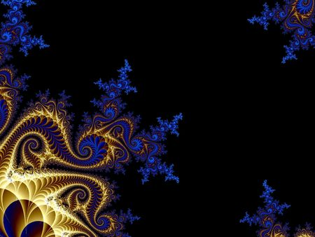 abstract beauty graphic fractal art background illustration Фото со стока - 3451918