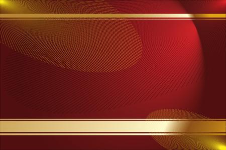 Golden rays.Vector ilustración decorativa de diseño gráfico. Ilustración de vector