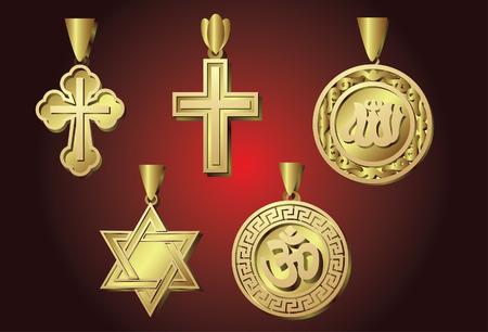 Religious Symbol.  Vector