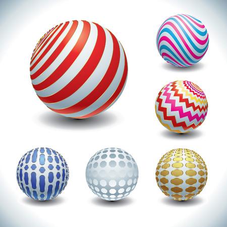 color balls Vector