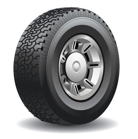 Wheel. Vector